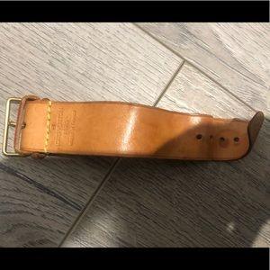 Louis Vuitton Authentic Leather Mini Strap